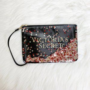 Victoria's Secret sequins wristlet